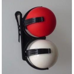 Cargador de bolas doble