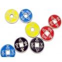 Set de monedas chinas NEGRAS