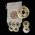 Set de monedas chinas PRO tamaño dólar