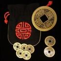 Set de monedas chinas PRO tamaño medio dólar