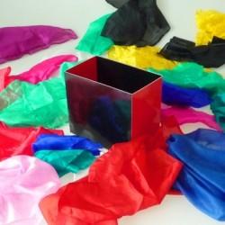 Caja fuente de pañuelos