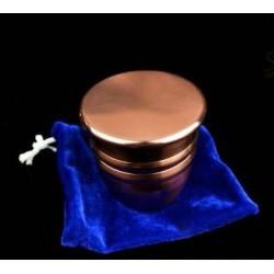 Cubilete de cobre sellado