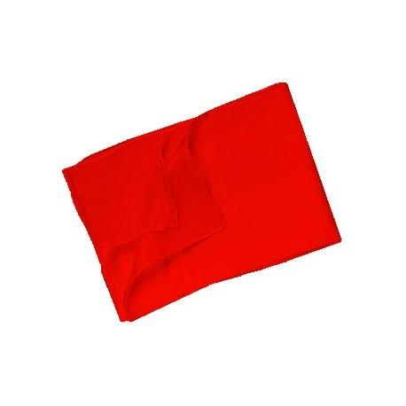 Pañuelo de seda 45x45 blanco