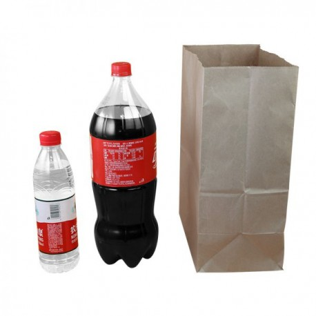 Botella de agua a Cocacola