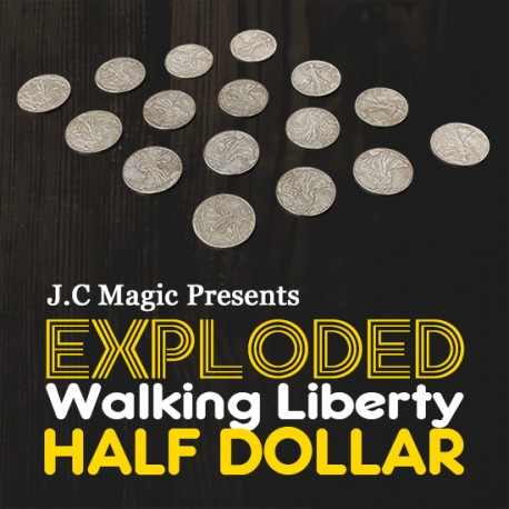 Exploded Half Dollar