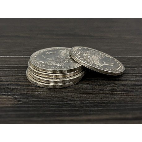 Set monedas dólar Morgan