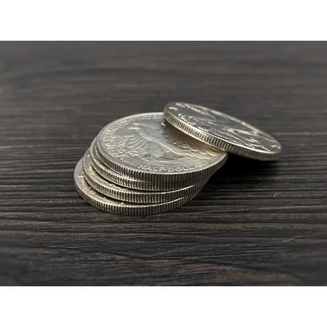 Set monedas medio dólar Liberty
