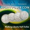Power Coins tamaño medio dólar